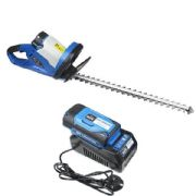 Hyundai HYHT60LI 60v Lithium-ion Battery Hedge Trimmer With Battery & Charger